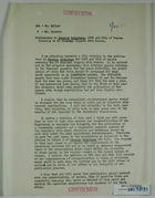Confidential Report on Chamizal Border Dispute and Article in Foreign Relations, March 30, 1950