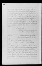 Letters from Hamilton Fish to Ebenezer Bassett, 1870