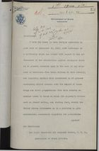 Memo from Dept. of State from Sir Auckland Geddes re: Exportation of Narcotics, December 03, 1920