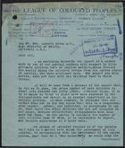 Correspondence and Report re: Illegitimate Children Born to English Mothers