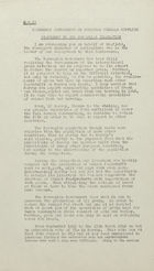 Emergency Conference on European Cereals Supplies - Statement by the Norwegian Delegation [April 1946]