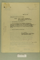 Mexico, Military Activities of the United States to Protect Americans from Depredations, July 22, 1919