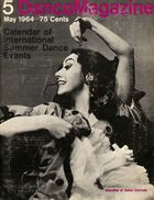 Dance Magazine, Vol. 38, no. 5, May, 1964