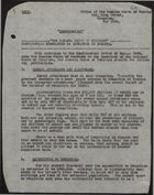 Confidential Memo re: Education in Jamaica, by Jamaica Union of Teachers, May 1938