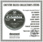 Country Blues Collector's Items 1924 - 1928