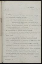 Letter from H. Drummond Wolff to the Marquis of Salisbury, September 25 ,1897