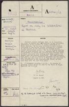 Correspondence re: Anniversaries: Report on July 26 Celebrations in Havana, July 31-August 8, 1963