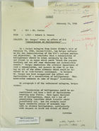 Memo from Robert H. Neuman to Mr. Davies re: Mr. Bergus' Views on Effect of UAR