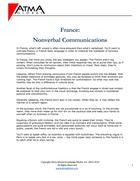 France Nonverbal communications