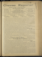 Cheese Reporter, Vol. 57, no. 27, March 13, 1933