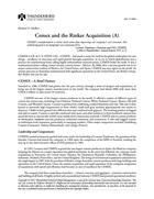 CEMEX and the Rinker Acquisition