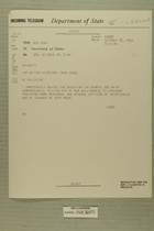 For Acting Secretary from Lodge, Re: Palestine, Oct. 28, 1955