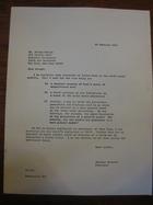 Stanley Milgram to Joseph Gerver, February 15, 1968