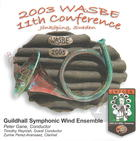 2003 WASBE: Guildhall Symphonic Wind Ensemble