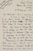 Letter from Ellie Love MacPherson to Robert and Maggie Jack, August 2, 1896
