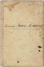 Bank of South Australia passbook cover belonging to Rev. Robert Haining