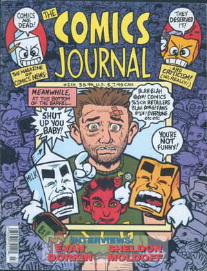 The Comics Journal, no. 214