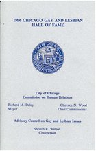 1996 Chicago Gay and Lesbian Hall of Fame