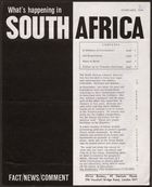 What's Happening In South Africa, February 1964 (Pg.Int.Ab.3.Ii)