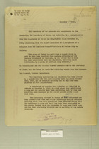 Letter from Secretary of War to Secretary of State, Dec. 19, 1919
