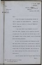 Copy of Letter from Captain James Boyle, Madeira, to Principal Secretary of State for Foreign Affairs, re: Smallpox Outbreak and Clean Bill of Health for Funchal, November 28, 1907