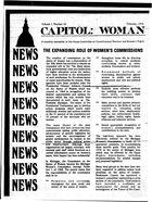 Capitol: Woman, vol. 1 no. 10, February 1974