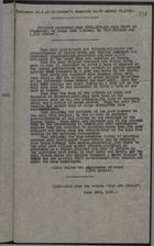 Extract from Panama Star and Herald: Petition by H. P. Wilkins and 1,000 Others from Cristobal's Open Court to Judge John W. Hanan, Presented June 28, 1920