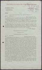 Correspondence re: Confidential Affairs of China, Winter 1915-1916