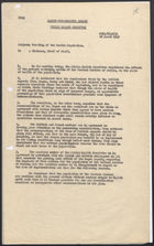 Memo from Allied Kommandatura Berlin Public Health Committee to Chairman, Chief of Staff re: Feeding of the Berlin Population, March 28, 1949