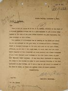 Letter from C. A. McIlvaine to Walter V. Eagleson, September 2, 1914