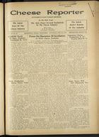Cheese Reporter, Vol. 60, no. 26, Saturday, February 29, 1936