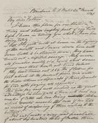 Letter from Walter Leslie to My Dear Father, March 24, 1846