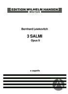 3 Salmi: A Capella, Op.9