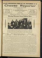 Cheese Reporter, Vol. 60, no. 6, Saturday, October 12, 1935