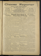 Cheese Reporter, Vol. 57, no. 3, September 26, 1932