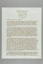 Report of the President, 17th Triennial Assembly, Washington D.C., 19-30 June 1963