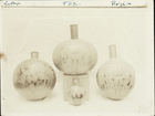 A.C.H. 5: Photo of Four Decorated Spherical Vessels