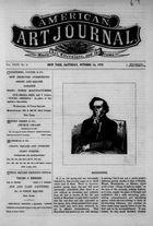 American Art Journal, Vol. 26, no. 3, October 14, 1876