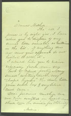 Washburn Family Papers, 1811-1869