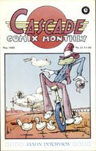 Cascade Comix Monthly, no. 21