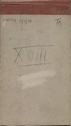 Malaya Field Notebook [Terengganu] XVIII