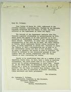 Letter from Abba P. Schwartz to Lawrence F. Feloney re: Mrs. Glafira Vizcarra Castellon & Her Family in Cuba, April 12, 1963