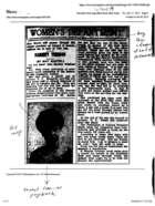 Women's Department: Harriet Tubman