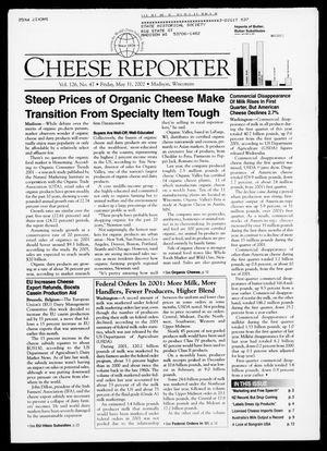 Cheese Reporter, Vol. 126, No. 47, Friday, May 31, 2002