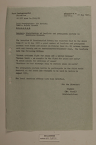 Memo from Dr. Riedl re: Distribution of Leaflets and Propaganda Posters in Landkreis Kronach, May 26, 1951