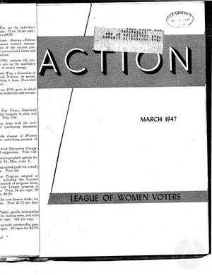 Action, vol. 3 no. 2, March 1947