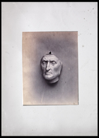Full face, slightly to the right of Dante in plaster