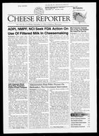 Cheese Reporter, Vol. 126, No. 11, Friday, September 21, 2001