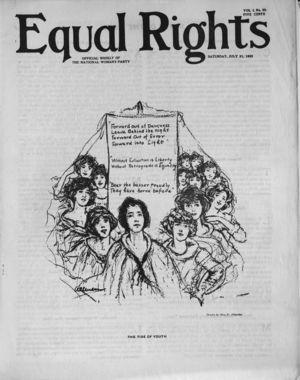 Equal Rights, Vol. 01, no. 23, July 21, 1923