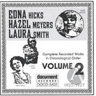 Edna Hicks - Hazel Meyers - Laura Smith Vol. 2 (1923-1927)